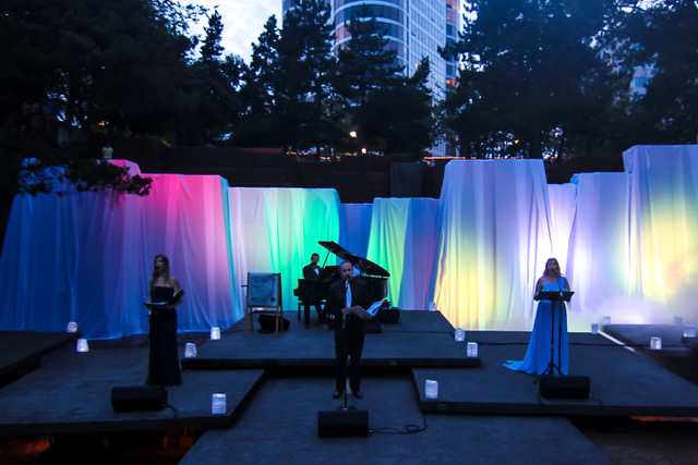Changing Places: A Light, Music and Art Installation